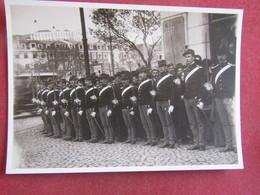 Portugal - Arquivo Fotográfico - Guarda De Honra Na Inauguração Do Monumento Ao Duque De Saldanha - Lisboa - Lisboa