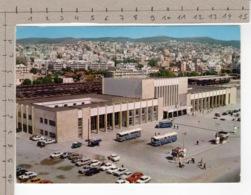 Thessalonique - La Gare / Thessalonika - Railway Station / Thessaloniki - Bahnhof (1973) - Gares - Avec Trains