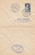 LETTRE. SEUL. N° 915 CROIX ROUGE JOURNEE AMERICAINE LANNOY - Marcophilie (Lettres)
