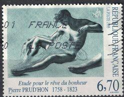 France 1995 Oblitéré Used Pierre Prud'hon Étude Pour Le Rêve Du Bonheur Y&T 2927 SU - Usati