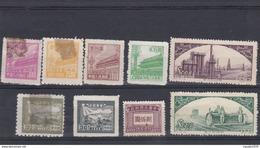 CINA - LOTTO DI 9 FRANCOBOLLI - NUOVI - 1949 - ... Volksrepubliek