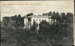 Cp Roma Rom Lazio, Institut International D'Agriculture, Vu Du Pincio - Roma (Rom)