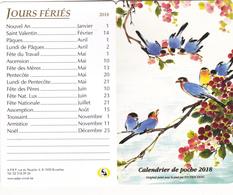 Calendrier De Poche 2018 - Calendriers