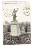 Cpm - 17 - Souvenir De N.D. De Corme-Écluse - Statue De Jeanne D'Arc - Animation Religieuse Prêtre - France