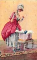 Fantaisie - Femmes - Edit. Tuck '' Mademoiselle '' Série 2970 '' Cecil Jay'' Art Nouveau - Women