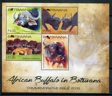 Botswana Mi# Block 47 Postfrisch MNH - Fauna Buffalo - Botswana (1966-...)