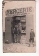 Carte Photo - Mercerie  Et Commandes :  Achat Immédiat - ( Cd034 ) - Magasins