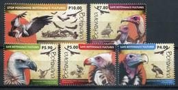 Botswana Mi# 1018-22 Postfrisch MNH - Fauna Vultures - Botswana (1966-...)