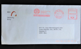 """Czechia, Stampless Circulated Cover, """"Cities"""", """"Brno"""", 2008 - Lettres & Documents"""