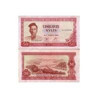 Billet République De Guinée 50 Sylis - Guinée
