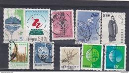 CINA - LOTTO DI 10 FRANCOBOLLI - USATI - 1949 - ... Volksrepubliek