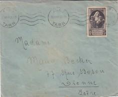LETTRE. SEUL. N° 465 VICTIMES DE LA GUERRE ALBI  /  2 - 1921-1960: Periodo Moderno