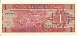 ANTILLES NEERLANDAISES 1 GULDEN 1970 UNC P 20 - Antilles Néerlandaises (...-1986)