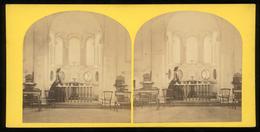 Stereoview - The Grand Pump Room, Bath, Somerset - Visionneuses Stéréoscopiques