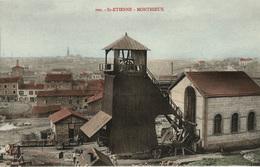 Mines, Mine : Saint-Etienne -  (42) Loire - Monthieux - Puits De Mine - Saint Etienne