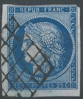 Lot N°54646  N°4, Oblit Grille De 1849 - 1849-1850 Cérès