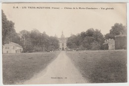 - Les Trois - Moutiers : Chateau De La Motte - Chandeniers. Vue Générale. - Les Trois Moutiers