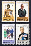 1981 Vanuatu Duke Of Edinburgh  Complete Set Of 4 MNH - Vanuatu (1980-...)