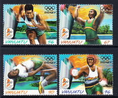 2000 Vanuatu Sydney Olympics Complete Set Of 4 MNH - Vanuatu (1980-...)