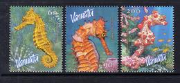2003 Vanuatu Sea Horses Complete Set Of 3 MNH - Vanuatu (1980-...)