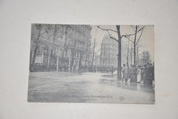 Paris Venise Inondations 1910 Boulevard Haussmann - Paris Flood, 1910