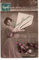 FEMMES 1018 : Vœux Sincères , édit. U D D 315 - Femmes