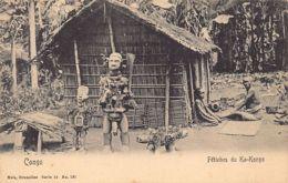 Congo Belge - Fétiches Du Ka-Kongo - Ed. Nels Série 14 No. 121. - Congo Belge - Autres