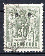 LUXEMBOURG - 1882-83 - N° 62 - 30 C. Vert-olive - (Surchargé : S.   P.) - Service