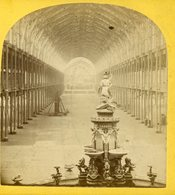 Stereoview - Crystal Palace Empty Interior View - Visionneuses Stéréoscopiques
