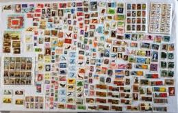Lot Timbres Oblitérés Tous Pays (6 Photos) - Timbres