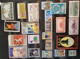Lot Vignettes France Et 1 Timbre Neuf (avec Gomme) De Loterie 1942 - Other