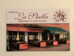 Restaurant La Stalla Oostende - Cartes De Visite