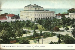 Portugal - Madeira - Funchal - Theatro E Jadim Publico - Madeira