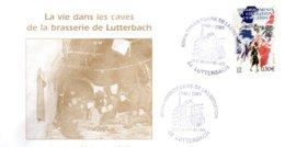 FRANCE / ENVELOPPE 60è ANNIVERSAIRE DE LA LIBERATION DE LUTTERBACH 1945/2005 - Postmark Collection (Covers)