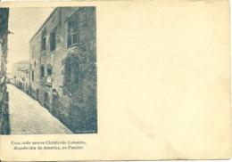 Portugal - Madeira - Funchal - Casa Onde Morou Cristovão Colombo - Precurseur - Madeira