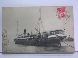 PAQUEBOT - TUNIS - LE PAQUEBOT VILLE D'ALGER - NDPHOTO 87 - Dampfer