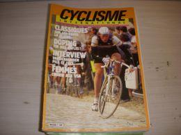 CYCLISME INTERNATIONAL 002 05.1986 CLASSIQUES PARIS ROUBAIX VANDERAERDEN DOPAGE - Deportes