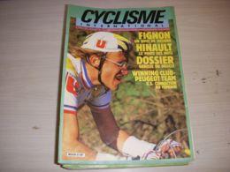 CYCLISME INTERNATIONAL 003 06.1986 FIGNON HINAULT CLASSIQUES LBL ARGENTIN WAMPERS - Deportes