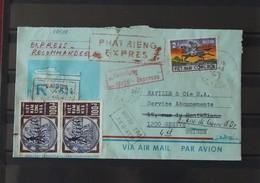 03 - 20 // Vietnam - 1972 -  Lettre Express - Recommandé à Destination De Genéve Suisse - Vietnam