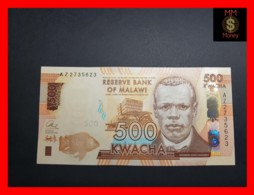 MALAWI 500 Kwacha 1.1.2014  P. 66  UNC - Malawi