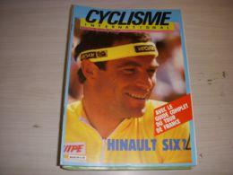 CYCLISME INTERNATIONAL 004 06.1986 SPECIAL GUIDE AVANT TOUR CARTE PARCOURS EQUIPES - Deportes