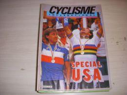 CYCLISME INTERNATIONAL 010 10.1986 CHAMPIONNAT MONDE ARGENTIN MOTTET SPECIAL USA - Deportes