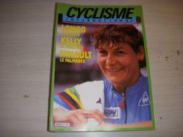 CYCLISME INTERNATIONAL 011 11.1986 KELLY LONGO HINAULT LES RECORS De L'HEURE - Deportes