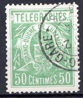 LUXEMBOURG - 1883 - Timbres Télégraphe - N° 3 - 50 C. Vert-jaune - Télégraphes