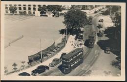 °°° 20571 - HONG KONG - THE TRAMWAYS & CARS - 1953 With Stamps °°° - Cina (Hong Kong)