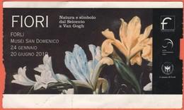 """Musei San Domenico Forlì - Mostra """"Fiori, Natura E Simbolo Dal Seicento A Van Gogh"""" - Biglietto D'Ingresso Posto Unico - - Tickets - Vouchers"""