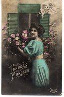 FEMMES 1023 : Tendres Pensées  , édit. Dales 164 - Femmes
