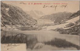 ITALIE -  CPA - Val D'Aosta. Ospizio Del Grand S. Bernardo. Versante Italiano - Non Classés
