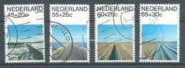 Pays-Bas YT N°1146/1149 Nouveaux Paysages Oblitéré ° - Period 1980-... (Beatrix)