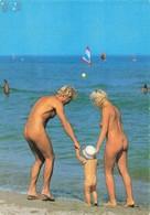 Nu Naturisme En Mediterranée Naturiste Femme Nue Homme Nu Couple - Altri
